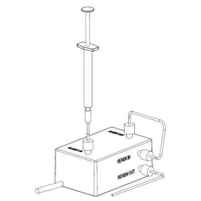 离子色谱膜抑制器再生与活化
