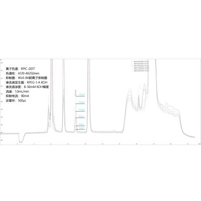RPIC-2017离子色谱仪用于饮用水中溴酸盐检测